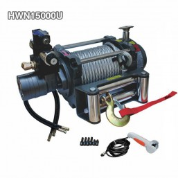 Hydraulic 4WD Winch 15000lbs For Truck With Hydraulic Accessories