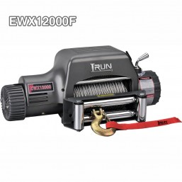 DC 12V Or 24V Recovery Electric Winch 12000lbs With Stand Up Control Box