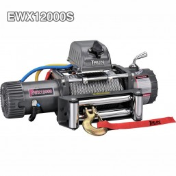 Electric Recovery Winches 12000 lb With Patent Design Three Stage Planetary Gear